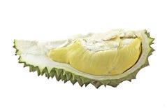 Durian odizolowywający na biały tle Fotografia Stock