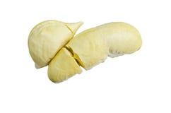 durian odizolowywający Zdjęcia Royalty Free