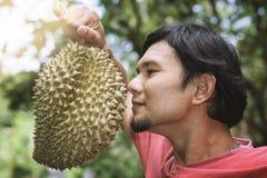 durian owoc odosobniona fotografia tropikalna Zdjęcie Royalty Free