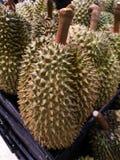 Durian owoc Tajlandia bubel w supermarketach obraz stock