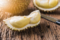 Durian, re dei frutti Immagine Stock Libera da Diritti