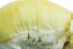 Durian, re di frutta isolato su fondo bianco fotografia stock
