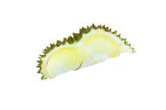 Durian, rei dos frutos isolados no fundo branco Imagens de Stock
