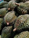 Durian, rey de la fruta fotografía de archivo