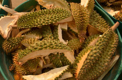 Durian rind Royalty Free Stock Images
