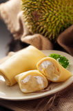 Durian Roll Royalty Free Stock Photography