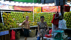 durian rynek Obrazy Royalty Free