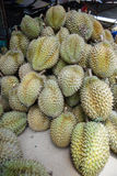 Durian sell in Thai market Royalty Free Stock Images