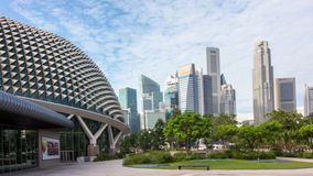 The Durian of Singapore Stock Image