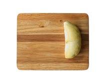 Durian sur le bois Photographie stock libre de droits