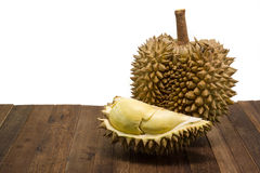 Durian thaïlandais, fruit tropical photos libres de droits