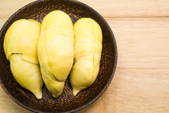 Durian thaïlandais, fruit tropical Photo stock
