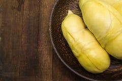Durian thaïlandais, fruit tropical photographie stock libre de droits