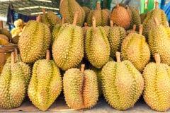 Durian Thailan exotisk för tropiska frukter på gatan Bangkok Royaltyfri Foto