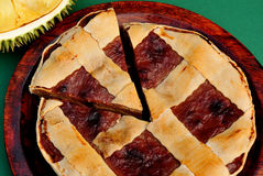 Durian-Torte Lizenzfreies Stockfoto