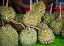 Durian vendido imagen de archivo