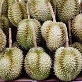 Durian w Tajlandia rynku Zdjęcie Stock