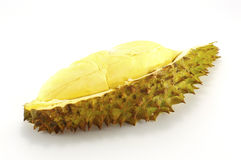 Durian  on white Stock Photography