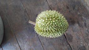 Durian zadziwiający jedzenie fotografia royalty free