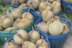 Durianfrüchte Lizenzfreie Stockfotografie