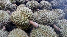 Durianfrüchte Lizenzfreies Stockfoto