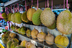 Durianfrüchte in China-Stadt Lizenzfreie Stockbilder
