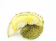 Duriankoning van Fruit op witte achtergrond Royalty-vrije Stock Afbeelding