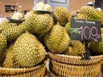 Duriankonung av frukt i Thailand Royaltyfria Bilder