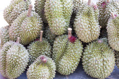 Durians, βασιλιάς των φρούτων Στοκ εικόνα με δικαίωμα ελεύθερης χρήσης
