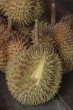 Durians στην αγορά Στοκ εικόνα με δικαίωμα ελεύθερης χρήσης