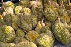 Durians, König von Früchten Stockbild