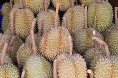 Durians in the market Royalty Free Stock Images