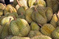 Durians, rey de frutas Fotografía de archivo libre de regalías