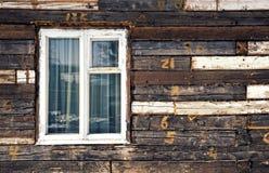 Durmiente de Backround con la ventana Fotografía de archivo