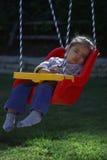 Durmiente del oscilación. Foto de archivo libre de regalías