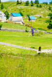 durmitor的村庄 免版税库存图片