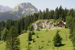 Durmitor 04. Landscape on Durmitor mountain Montenegro Europe Royalty Free Stock Photos