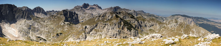 Durmitor góry Obraz Royalty Free