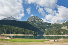 Durmitor Mountain and lake Royalty Free Stock Images