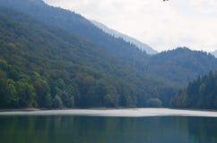 Durmitor National Park, Montenegro,. Landscape view of Durmitor National Park, Montenegro, the Black lake Royalty Free Stock Photography