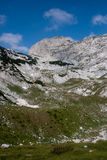 Durmitor national park. Mountains in the national park Durmitor Royalty Free Stock Photos