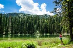 Durmitor område på Montenegro Royaltyfri Fotografi