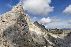 Durmitor park narodowy, Halny szczyt Bobotov Kuk Zdjęcia Royalty Free