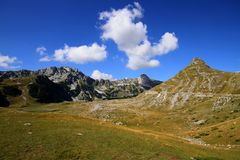 Durmitor Ring. Montenegro tourist wild beauty Durmitor Ring Zabljak nature Royalty Free Stock Image