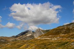Durmitor Ring. Montenegro tourist wild beauty Durmitor Ring Zabljak nature Stock Photo