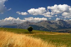 Durmitor Ring. Montenegro tourist wild beauty Durmitor Ring Zabljak nature Stock Photography
