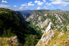 Durmitor Ring. Montenegro tourist wild beauty Durmitor Ring Zabljak nature Royalty Free Stock Photography