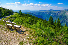 Durmitor and Tara Canyon Royalty Free Stock Photography