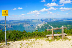 Durmitor and Tara Canyon Stock Photography