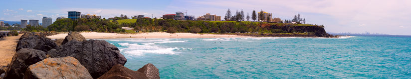 Durnabah Beach. A Panorama of Durnabah Beach stock photography